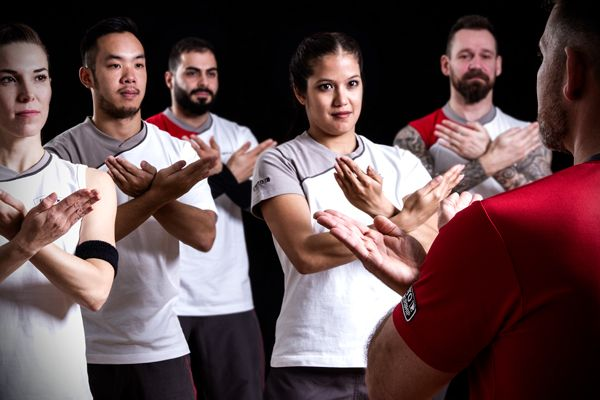 Kampfsport-Balance-Ausgleich